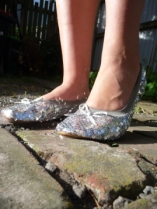 Sequin Folding Shoes