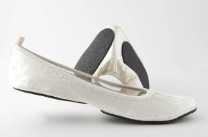 foldable ballet flats for weddings