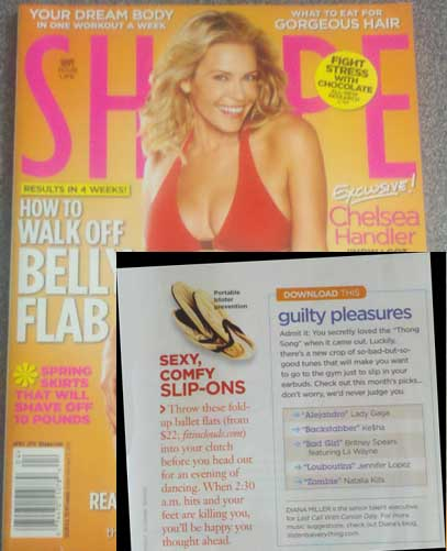 Shape magazine mentions fit in clouds